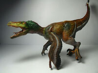2016 New Papo Dinosaur Toy / figure Feathered Velociraptor Raptor