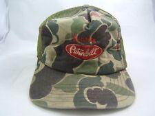 Houston Peterbilt Trucks Camo Hat Camouflage Snapback Trucker Cap