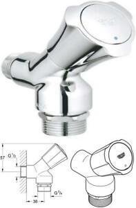 Grohe Costa L Waschmaschinenarmatur, 1/2 Zoll, Chrom (30008001)
