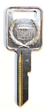 "NEW Cadillac GM Logo OEM IGNITION ""A"" Key Blank Uncut Blade 321668 B48 50-A"