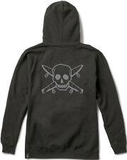 Fourstar Skateboard Clothing Pirate Skull Sample Mens Black Pullover Hood SRP£60