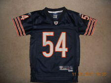 Chicago Bears Nfl Football Jersey #54 Brian Urlacher Reebok Sewn Youth Small Mlb