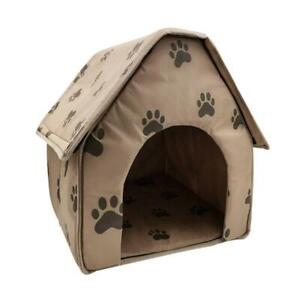 Pet Product Indoor Outdoor Pet Dog Lovely House Bed Kennel Puppy Cat Cabin gp