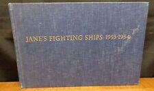 JANE'S FIGHTING SHIPS 1953-54
