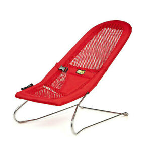 Vee Bee Serenity Red Bouncer Chair Baby Infant Newborn Bouncing Rocking Seat
