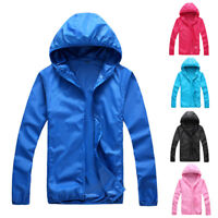 Waterproof Windproof Jacket Outdoor Quick Dry Sports Rain Coat Raincoat New