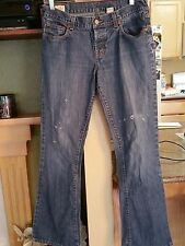 Womens Ambercrombie & Fitch Button Fly Jeans-Size 6R