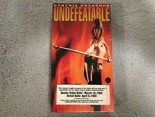 Undefeatable (1993) - VHS - Action -Cynthia Rothrock- Promo / Screener -RARE-NEW