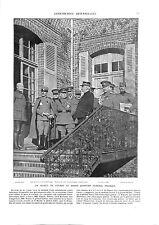 WWI GQG Général Pellé,Wilson Field Marshal French Maréchal Joffre B ILLUSTRATION
