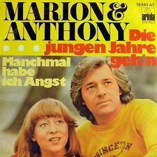 """7"""" MARION MAERZ & ANTHONY MONN Die jungen Jahre vergeh'n AL BANO & ROMINA POWER"""