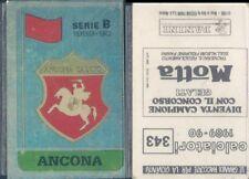 CALCIATORI PANINI 1989/90* FIGURINA STICKER N.343*ANCONA SCUDETTO*NEW