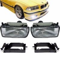 For BMW 3 series E36 White Set foglamps fog lights foglights OE OEM fogs nebel