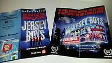 NEW JERSEY BOYS  LEAFLET FLYER PUT WITH YOUR  TICKETS FOR A GREAT GIFT