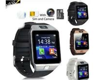 Smartwatch Bluetooth  Support SIM Card Sleep Monitor compatibile con IOS ANDROID
