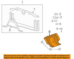 GM OEM Under Radiator/Engine-Splash Shield Cover 22781372