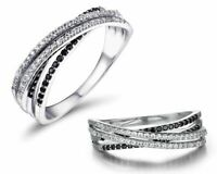 BENIAMINO Ring 925er Sterling Silber Spinell 18 K verg Micro Pave Fassung OVP