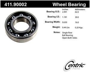 Axle Shaft Bearing-Premium Bearings Centric 411.90002