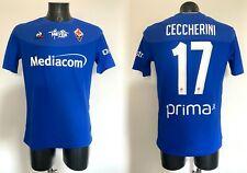 Ceccherini Fiorentina maglia indossata Lecce Serie A 2019 2020 match worn shirt