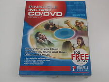 PINNACLE INSTANT CD/DVD VERSION 7 NEW