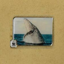 WHALE 1986 WORLD WILDLIFE FUNDS WWF ACTIVA PIN