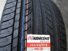 2 New 255/35ZR19 Inch Nankang NS20 Tires 255 35 19 R19 2553519 35R