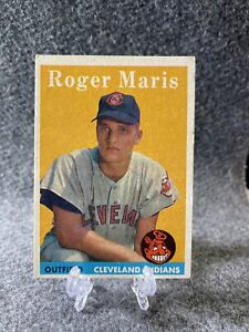 1958 Topps #47 Roger Maris Rookie Card RC