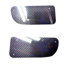 For 92-95 Honda Civic EG EG6 Front Bumper JDM Air Duct DELETE PANEL CARBON FIBER
