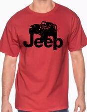 JEEP custom t-shirt graphic tee S -XL tshirt