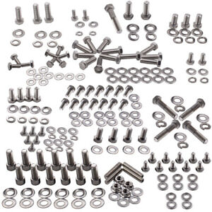 SMALL BLOCK Fit CHEVY 283 327 350 400 POLISHED STAINLESS OIL PAN STUD BOLT KIT