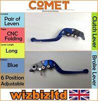 KTM 1190 RC8 2009-2016 [Pliable Bleu Long ] [ Comet Réglable Course Levier]