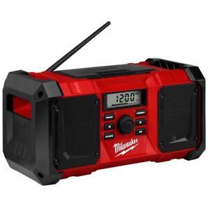 Milwaukee M18JSR-0 18V Li-ion Cordless Jobsite Radio - Skin Only