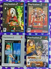 USED - JOB LOT of 4 FIGHTING GAMES - KoF - for PLAYSTATION 2 (PAL version)