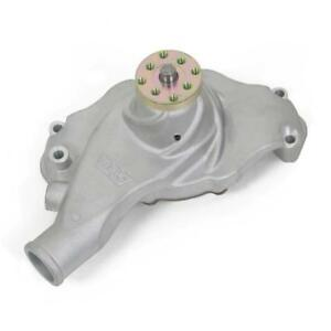 Weiand Water Pump 9212; Action+ Satin Aluminum Mechanical for Chevy 396-454 BBC