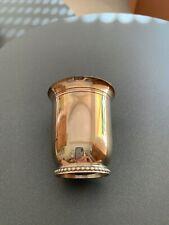 timbale ancienne en argent avec poinçon (voir photos)