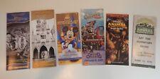 Disney Theme Park Misc Maps And Brochures Ephemera Disneyland 50Th Hong Kong Go
