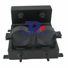 Undercar Surge Tank+2 Bosch Fuel Pump Brackets BLACK Hot