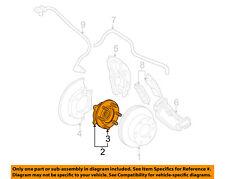 GM OEM-Front Wheel Hub 15946732