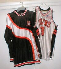GAME-WORN University of Findlay Oilers College Basketball Jersey-Shorts-Warm-Up