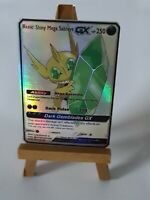 Mega Sableye Proxy Custom Pokemon Card in Holo