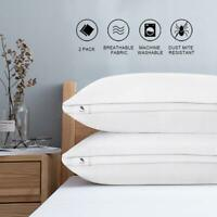 2pcs Classic Series Pillows for Sleeping, Star Hotel Pillow Cushion Sleep Care