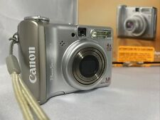 Canon PowerShot A530 5.0MP Digital Camera - Silver