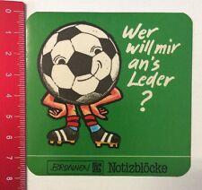 Aufkleber/Sticker: Brunnen TH Notizblöcke - Wer Will Mir An's Leder? (1405164)