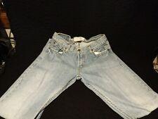 Used LEVIS Mens 514 30x32 Slim Fit Straight Leg Sits Below Waist