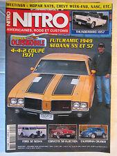 NITRO N° 201 /THUNDERBIRD '57/Dossier OLDSMOBILE/CORVETTE '58 injection/FORD 32