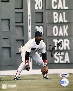 Jim Rice Boston Red Sox 8x10 W/PSA Certification.. Beautiful Inscription!