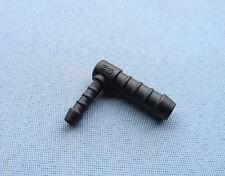 (2752) 1x Schlauchverbinder RGV 6mm / 10mm / 42mm schwarz reduziert Winkel