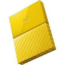 Western Digital HDD 2TB My Passport Yellow 625MB/s External Hard Drive st UK