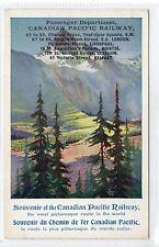 CANADIAN PACIFIC RAILWAY: Advertising postcard (C12917)