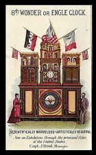 The Engle Monumental Clock designed by Stephen Decatur Engle.