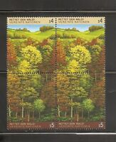 United Nations/Vienna SC # 80-81 Survival Of The Forrest . MNH